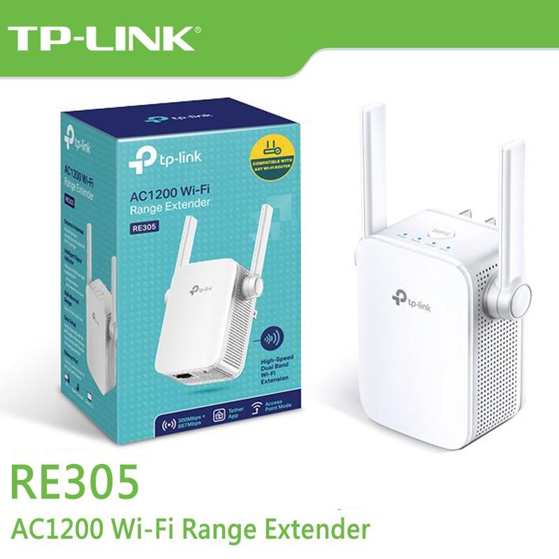 TP-LINK RE305 v3 Wi-Fi 訊號延伸器 AC1200 【每家比】