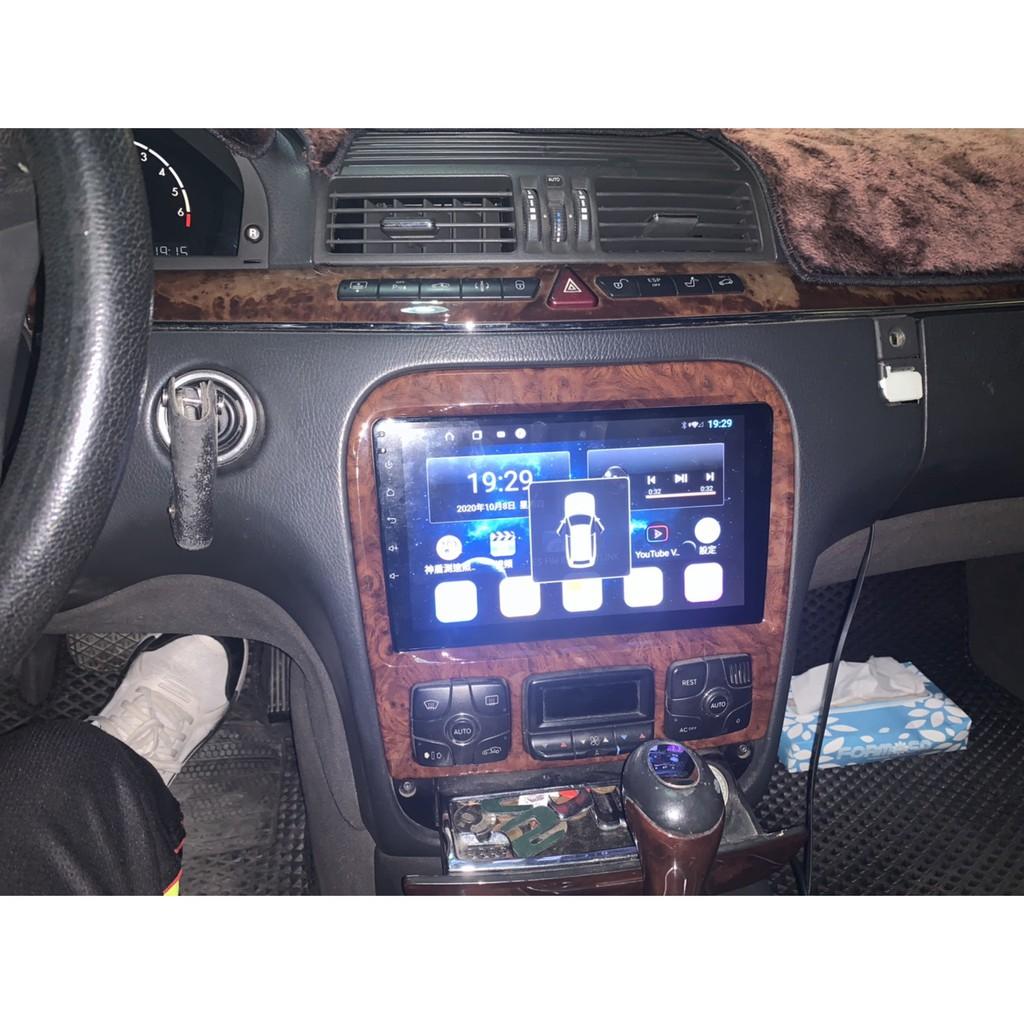 賓士M-Benz W220 S320 S350 Android 安卓版 電容觸控螢幕主機 導航/USB/Carplay