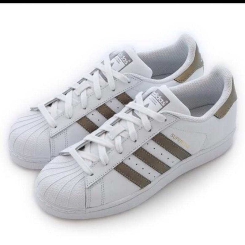 adidas男女休閒鞋 D98001 SUPERSTAR 情侶鞋