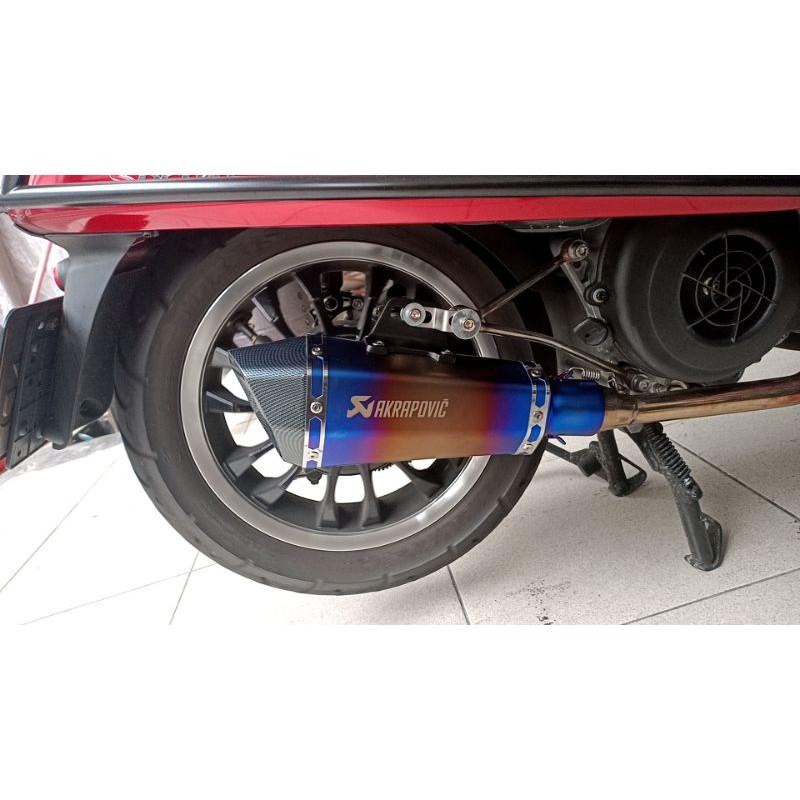 【孔家小館】 VESPA  排氣管 LXV 125 150 3V S 衝刺 春天 125 Sprint 改裝管 偉士牌