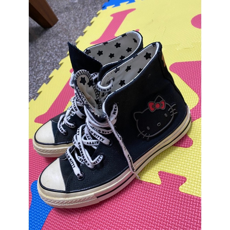 正版all star Hello kitty鞋子