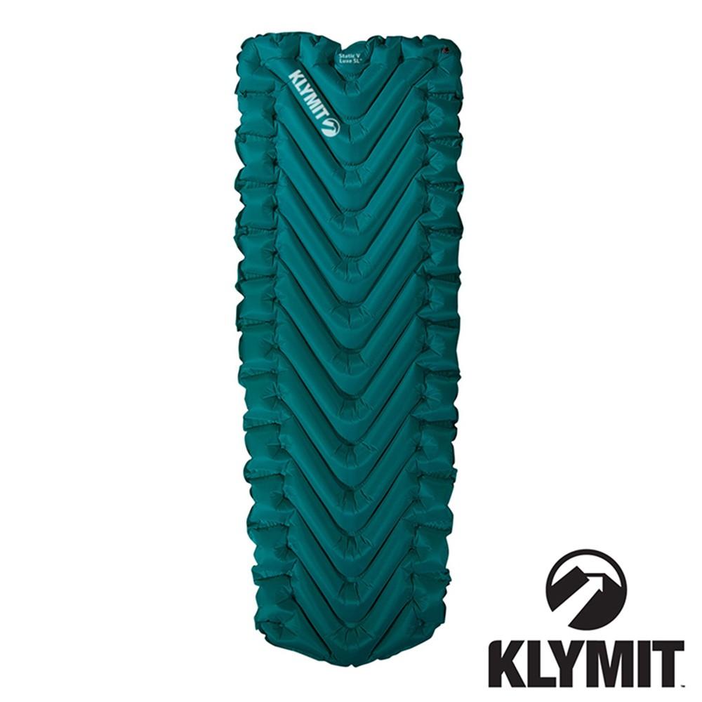 【美國Klymit】STATIC V Luxe SL全身睡墊『深青』198x68.6 06LLBL01D