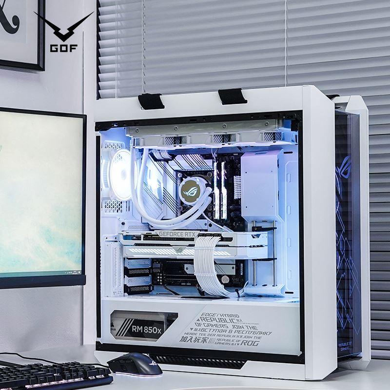 【台灣 現貨】 正品ROG華碩全家桶11代i7 11700K/i9 10900K RTX3090顯卡全白遊戲主機