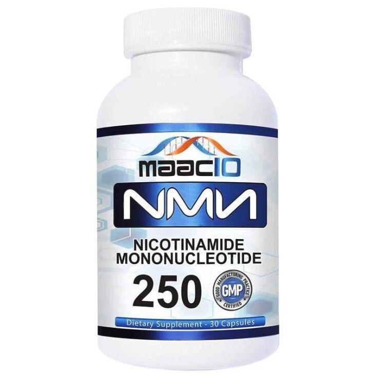 美國進口Maac10 NMN煙酰胺單核苷酸NAD+補充劑30粒/瓶
