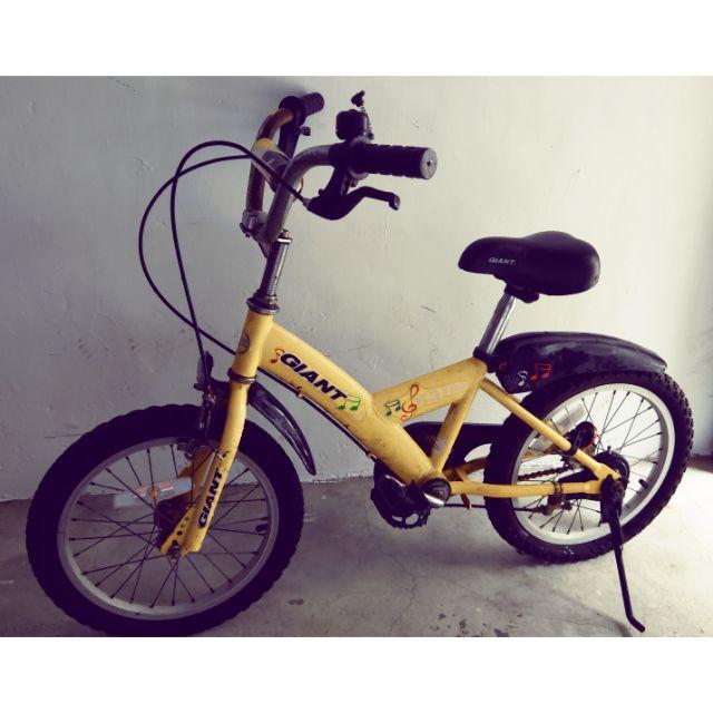 捷安特兒童自行車16吋