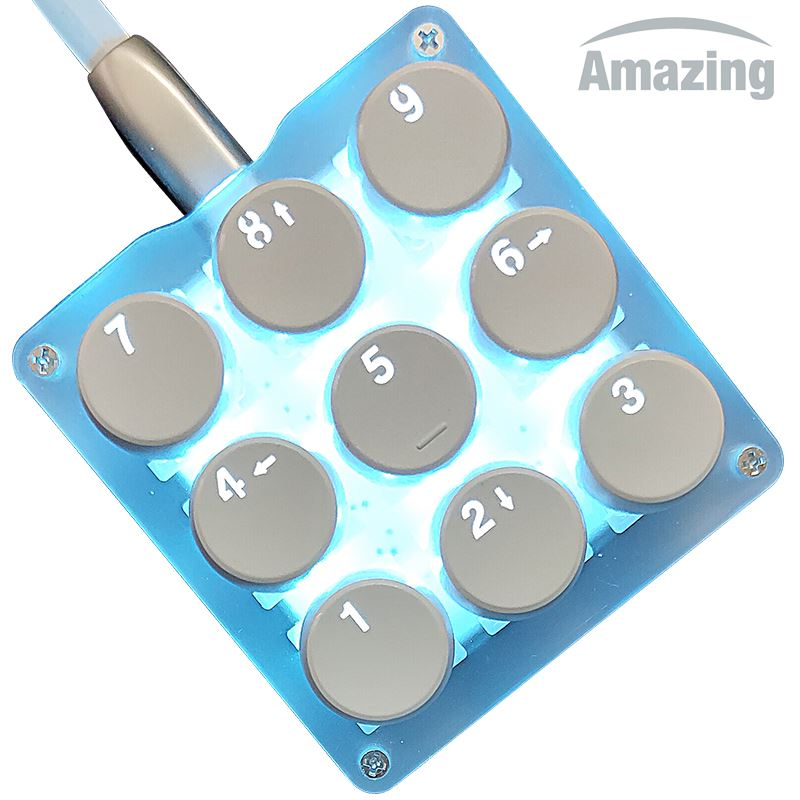 9鍵機械鍵盤小鍵盤osu鍵盤音遊鍵盤宏程式設計鍵盤迷你便攜自定義鍵盤