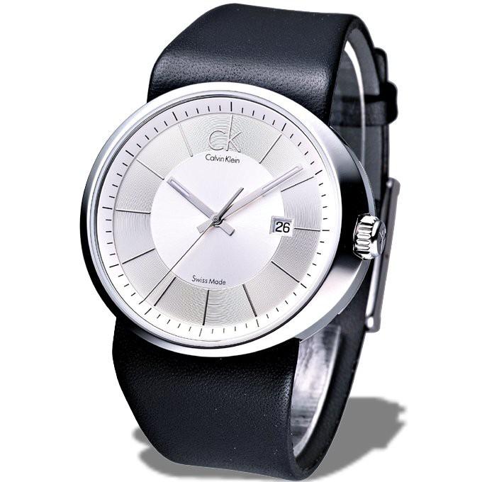 【ck】卡文克萊手錶 K0H21120 時尚個性腕錶(銀白)★瑞士製,保固二年,㊣超值搶購