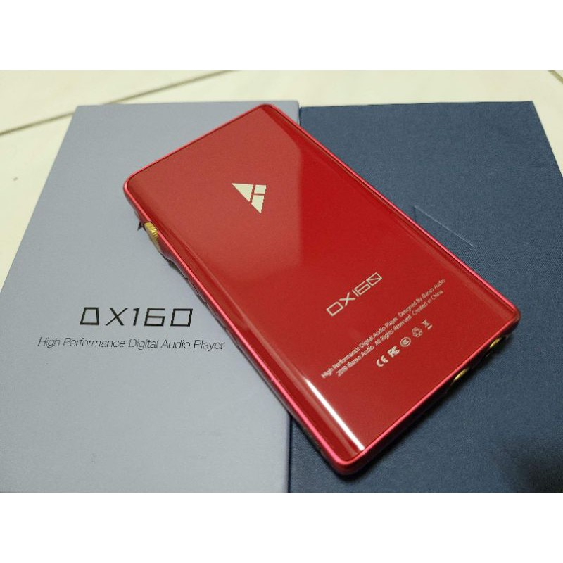iBasso dx160 紅色 保內 公司貨 串流 ANDROID 4.4mm 平衡輸出 串流