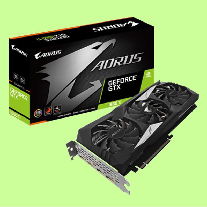 技嘉 NVIDIA AORUS GeForce GTX 1660 Ti 6G 顯示卡 3年保