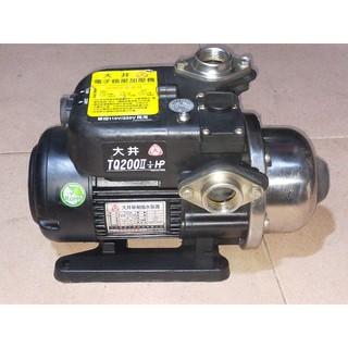 大井牌tq200 1/ 4HP電子穩壓加壓機加壓馬達 高雄市