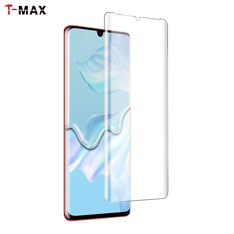 T-MAX Huawei P40Pro / P30Pro / Mate20Pro UV全膠全貼合3D曲面內縮版玻璃保護貼