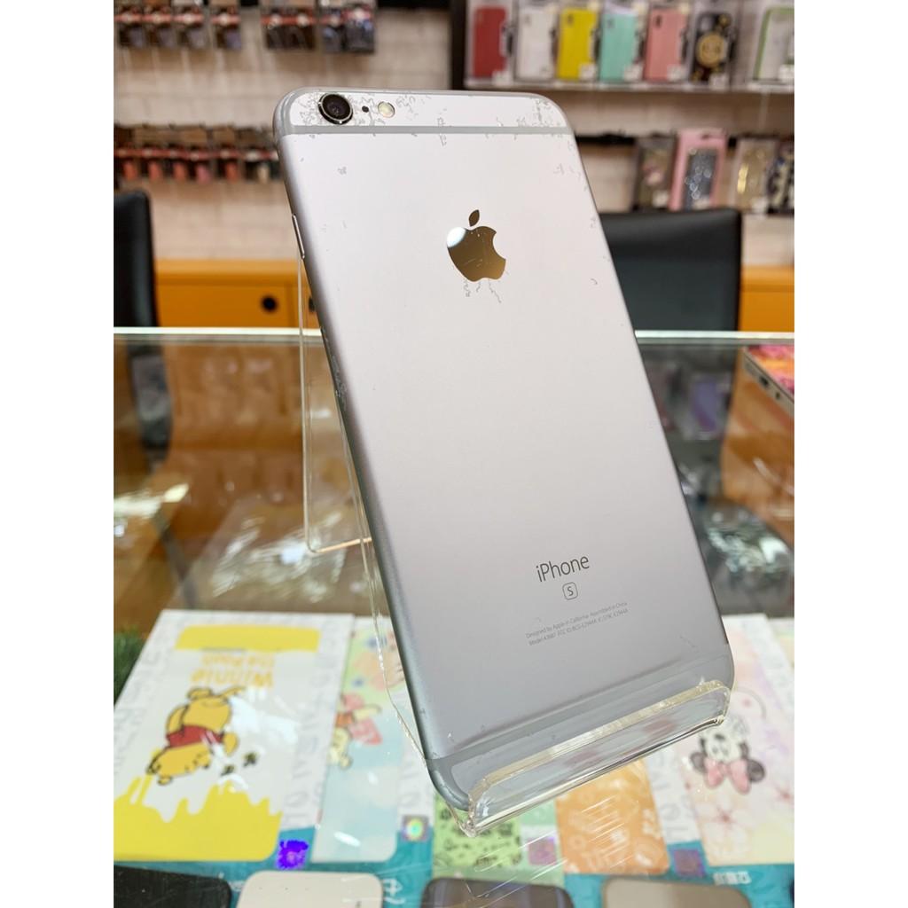 【橙通訊3C】二手 IPHONE 6s Plus 16G 銀色 版本 ios 12