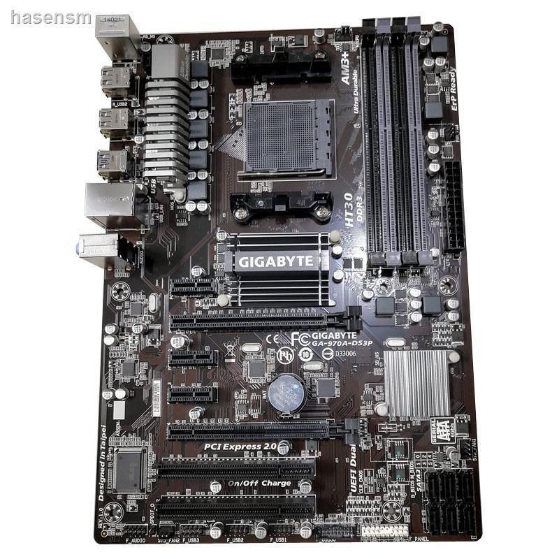 【現貨】Gigabyte/技嘉 GA-970A-DS3P DDR3 AM3+ FX8300 FX6300 AMD 970