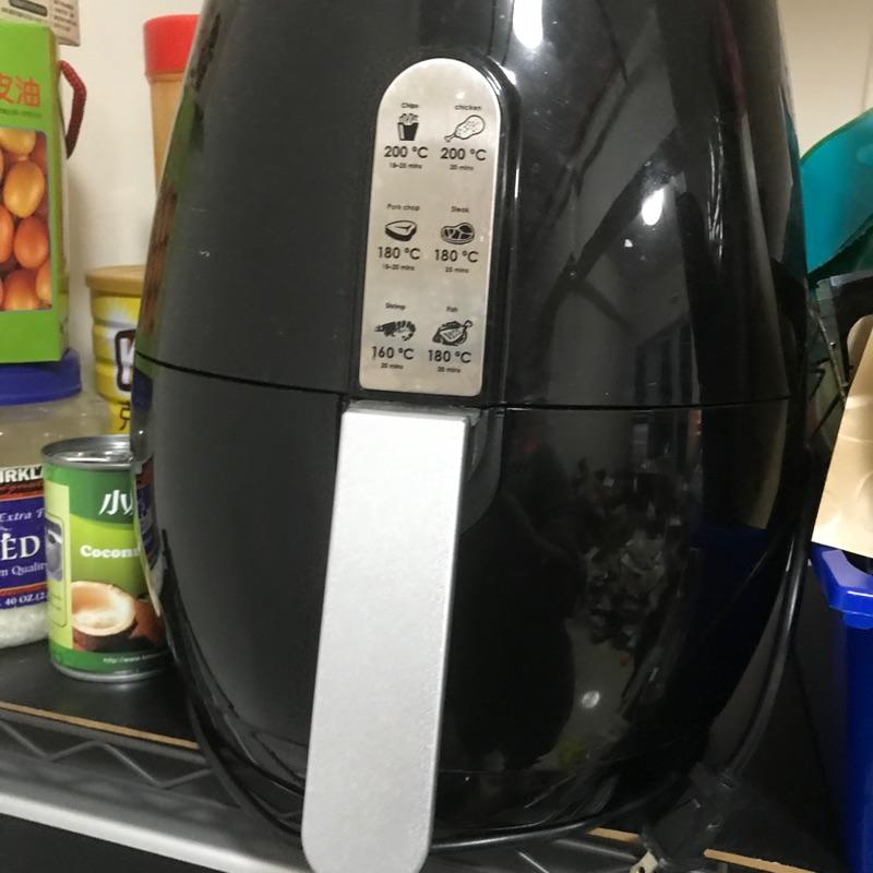 品夏氣炸鍋/臺灣規格/型號LQ-3501B大容量5.5L送全新矽膠刷隔熱手套