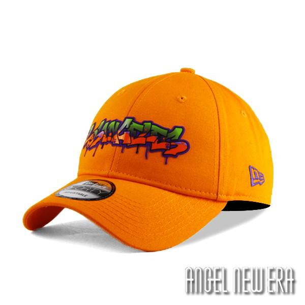【NEW ERA】街頭塗鴉款 洛杉磯 橘紅 老帽 軟版 9FORTY 嘻哈 hiphop 【ANGEL NEW ERA】