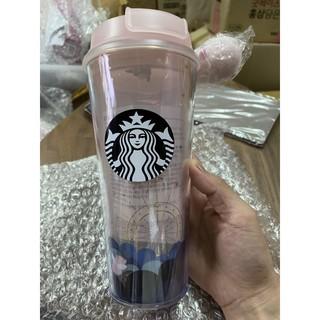 B現貨 韓國星巴克小豬粉紅色塑膠隨行杯473ml B2020012 臺北市