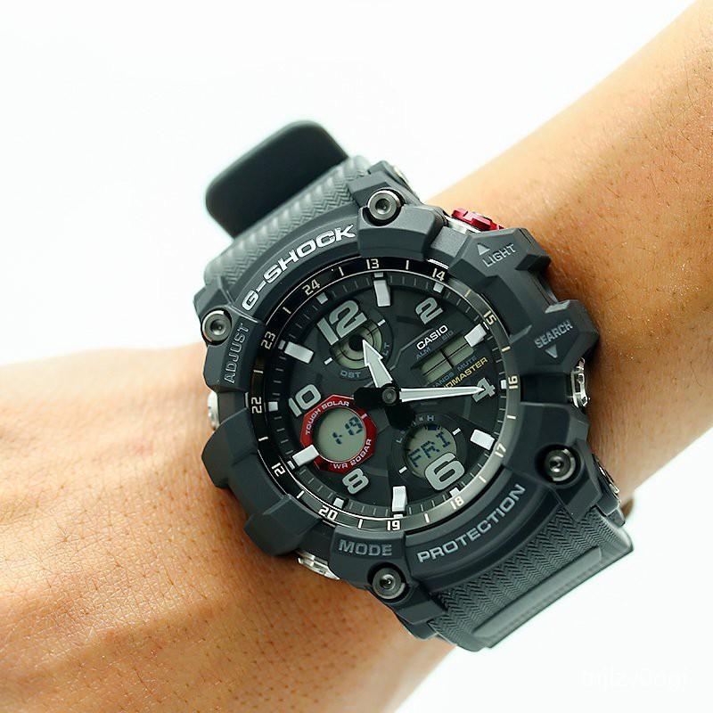 卡西歐CASIO 手錶 G-SHOCK GWG-100/1000-1A8/1A3/1A光能電波男錶 UWGH