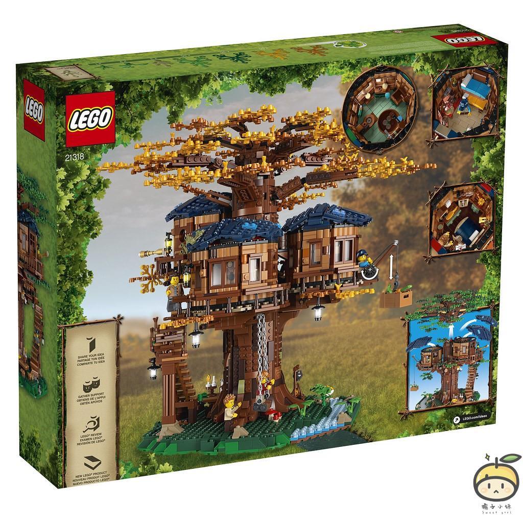【橘子小妹】全新 樂高 Lego 21318 Ideas 樹屋