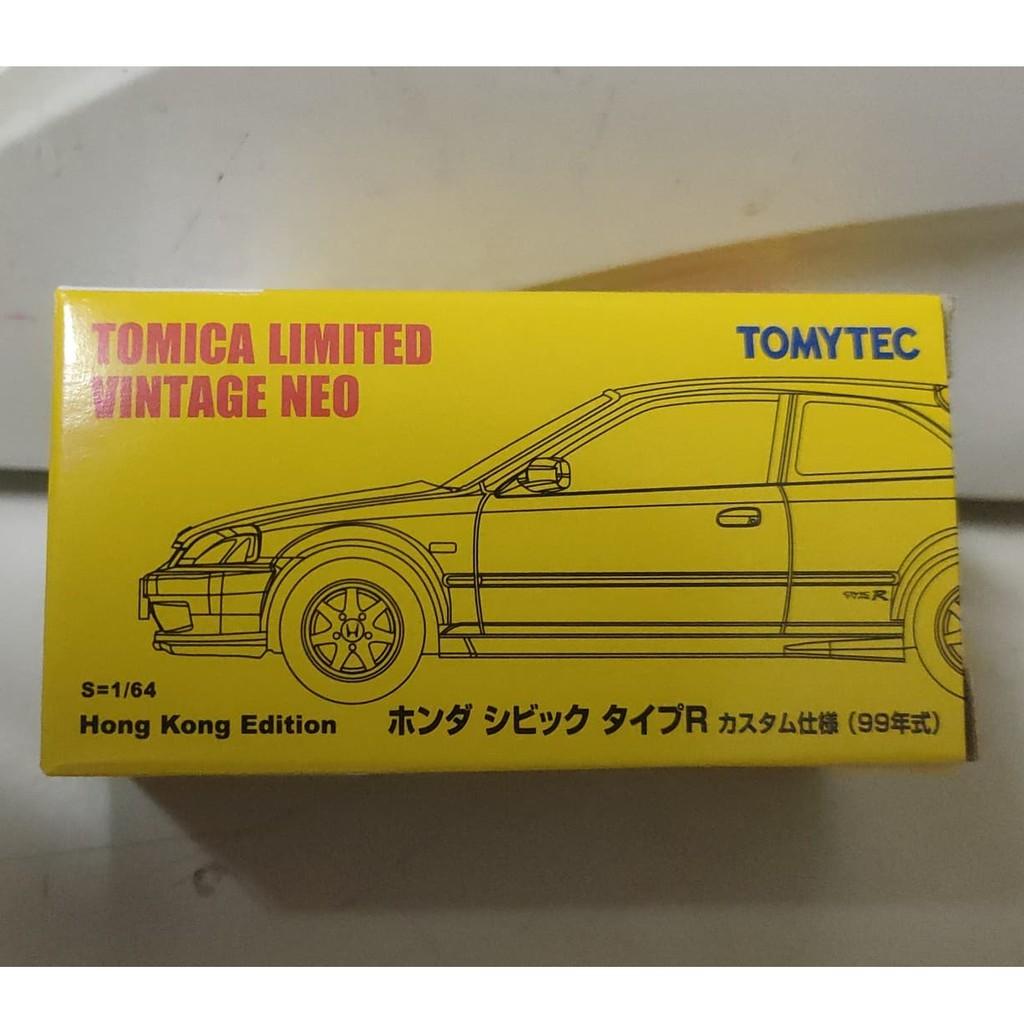 (現貨) Tomica 多美 Tomytec  香港限定 TLV CIVIC 喜美 黃色(車況請看圖)