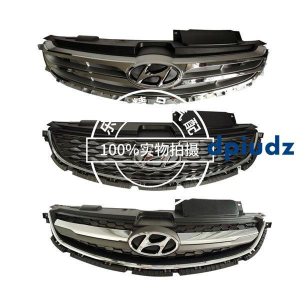Hyundai 12-14 15 16款Elantra前中網 前臉散熱器面罩通風網進氣格柵