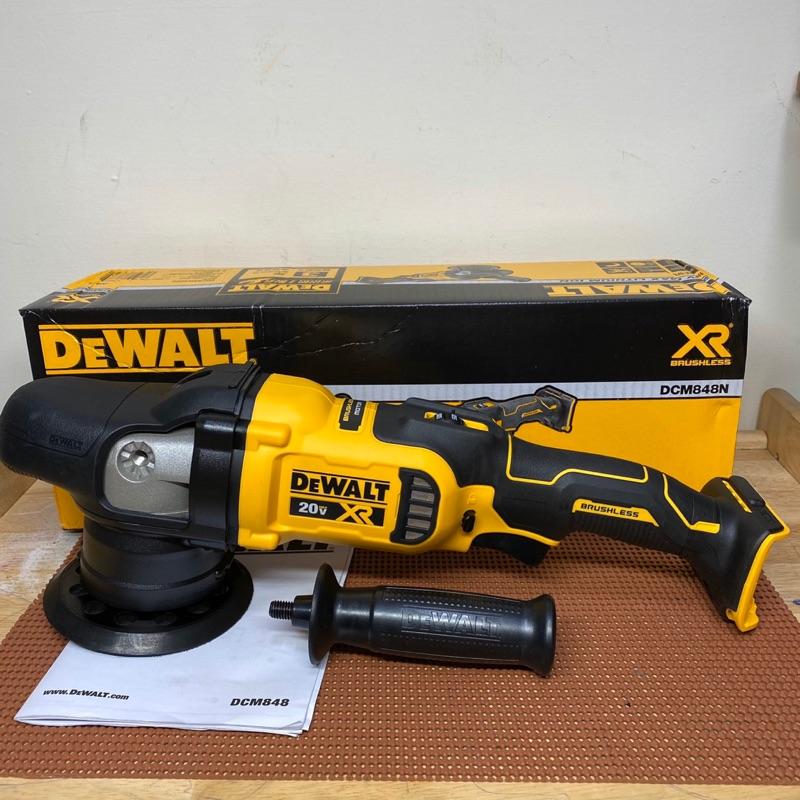 全新得偉 DeWALT 20V DCM848 無刷震拋機/打蠟機