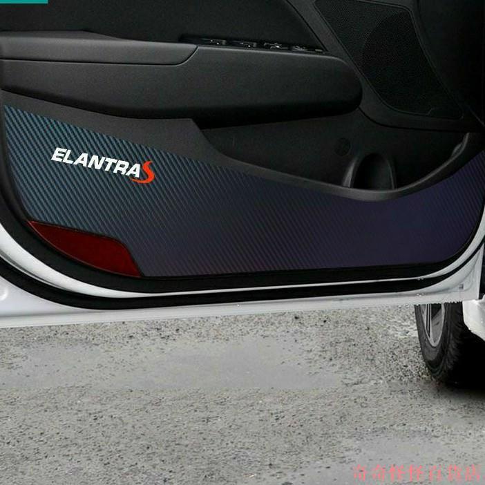 【台灣熱賣】款ELANTRA SPORT 五代 六代 5代 6代 6.5代 IX35 車門防踢墊 防踢門墊 車門墊 車門