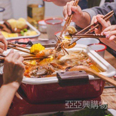 #搪瓷#餐具# 日式琺瑯搪瓷火鍋加厚家用雙耳木蓋方格平底關東煮湯鍋電磁爐燉鍋 iHSr