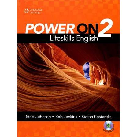 <團購最省>Power On 2: Lifeskills English with DVD/ 9781305506985