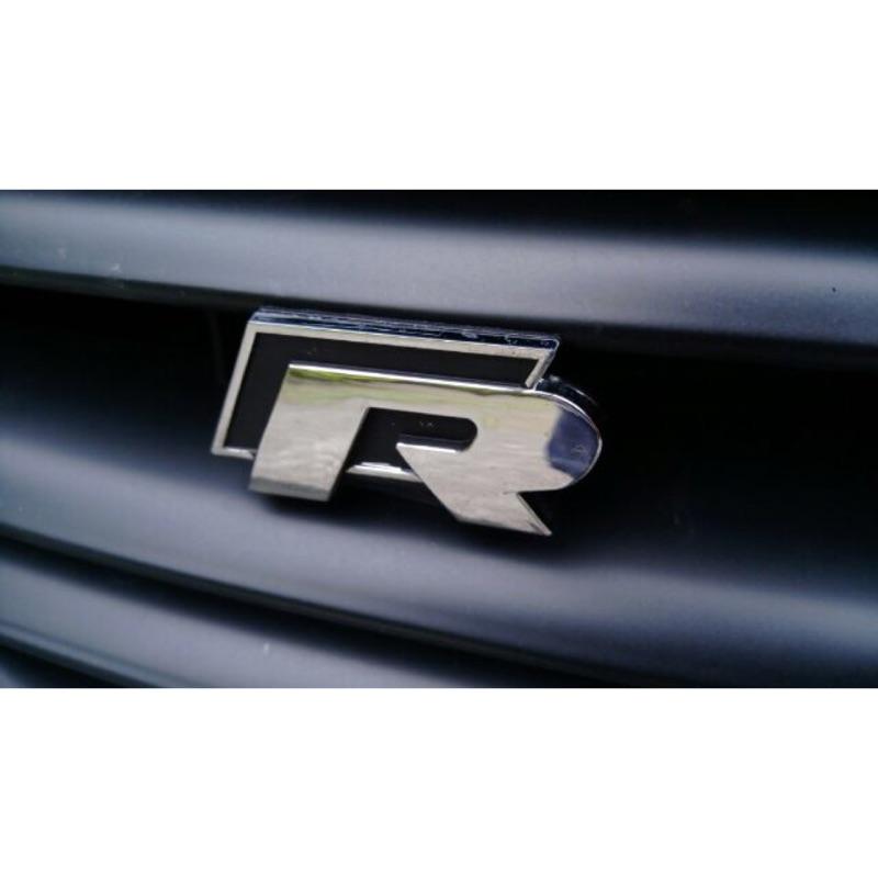 VW R標 尾標 水箱罩標 golf tiguan passat polo Rline 水箱標 R 標誌 GTI