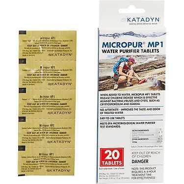 KATADYN MICROPUR MP1 淨水錠 (20錠/30錠)