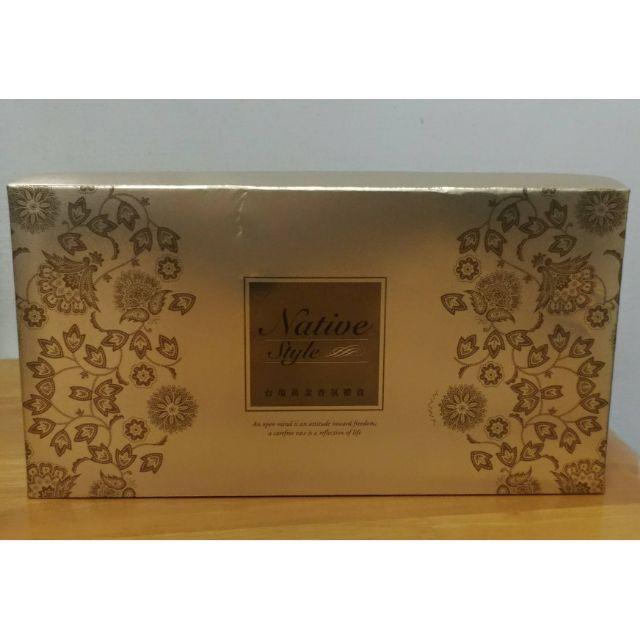 台鹽黃金香氛禮盒  膠原蛋白黃金皂  3入