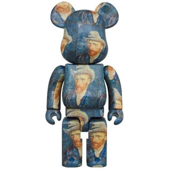 Be@rbrick Van Gogh Museum Self 梵谷自畫像庫柏力克熊1000%全新現貨