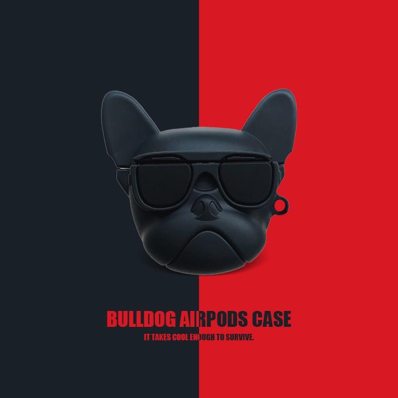 【Yinuoer賣場雙11特惠/新品免運】🤝\n🤝🤝斗牛犬kaws蘋果AirPods保護套pro無線藍牙耳機盒1/