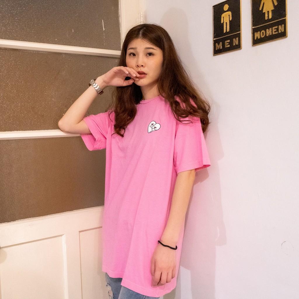 RIPNDIP 男女 LOVE NERM TEE 短T 粉紅【A-KAY0】【RND3287PINK】