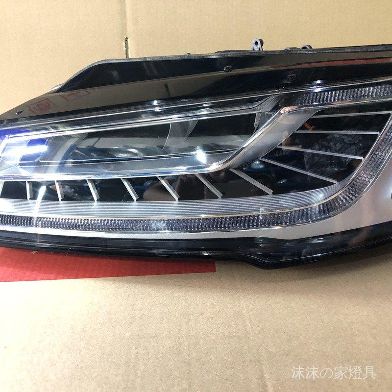#拆車件 適用奧迪前車燈A6 A4 A5 A3 A2 A1 A8 A7 RS6 RS8原裝LED大燈總成