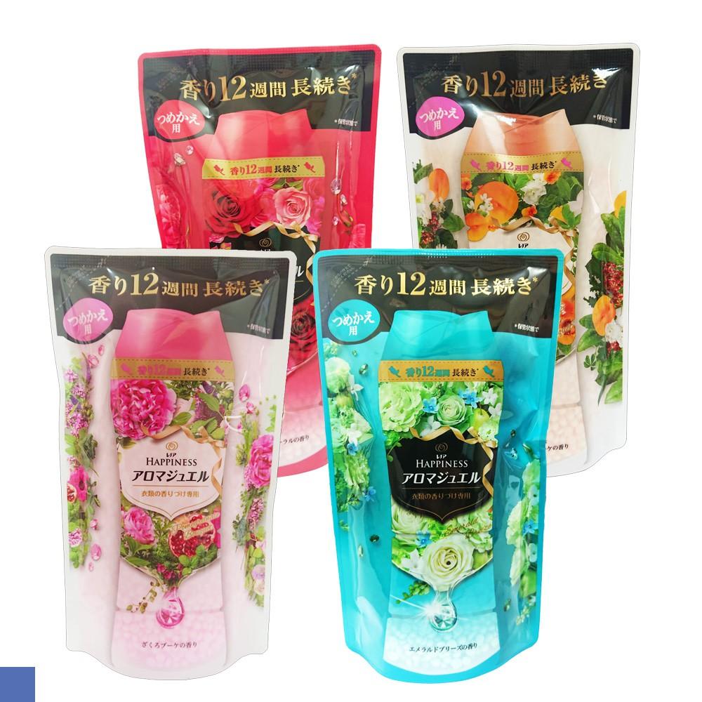 交朋友批發購物網 日本 P&G 衣物香氛 芳香顆粒 洗衣芳香顆粒 香香豆 補充包 袋裝 455ml 全新