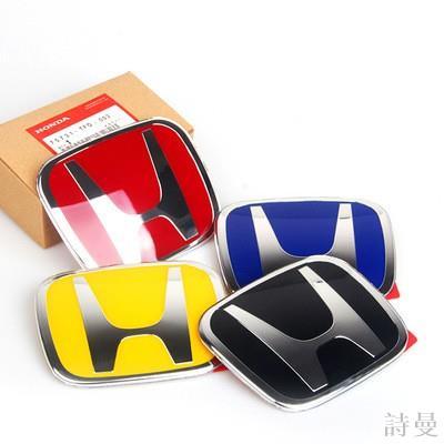 【優選推薦】[]本田喜美 Honda CRV2代2.5代3代3.5代 4代 4.5代4代 5代 紅H 標誌 前標詩曼