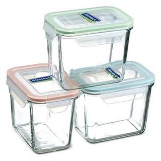 Glasslock 3入保鮮罐/ 強化玻璃保鮮盒SP-1803 新北市