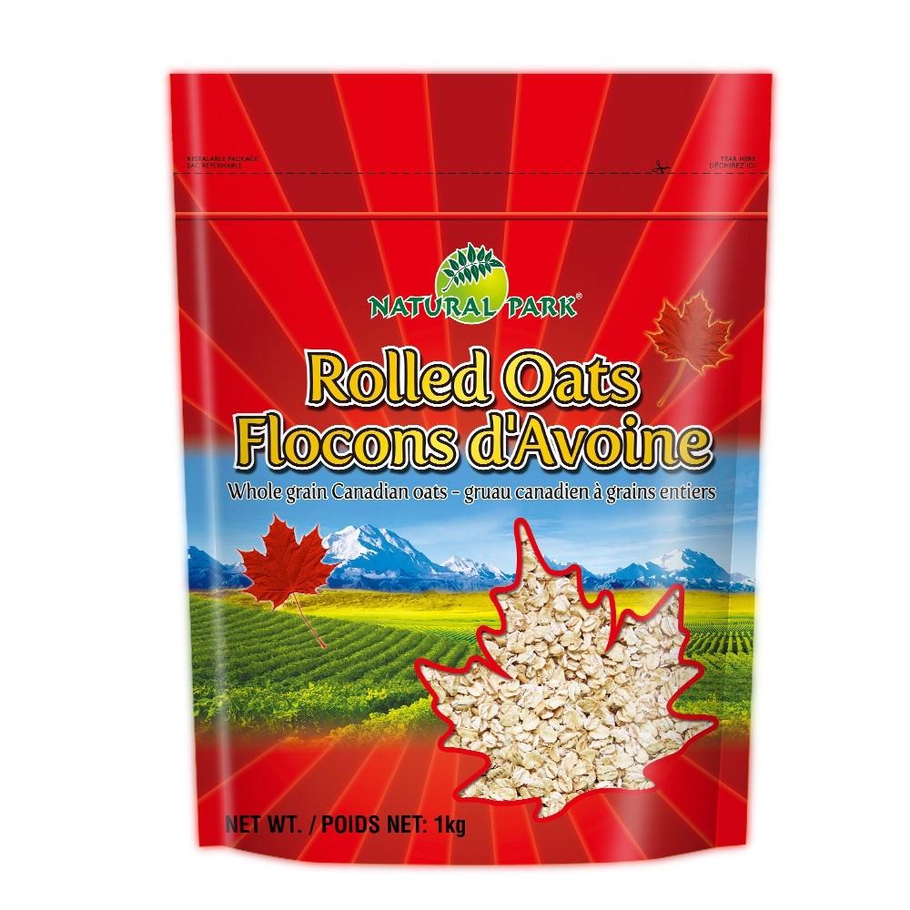 【NATURAL PARK加拿大】傳統燕麥片(1000g)