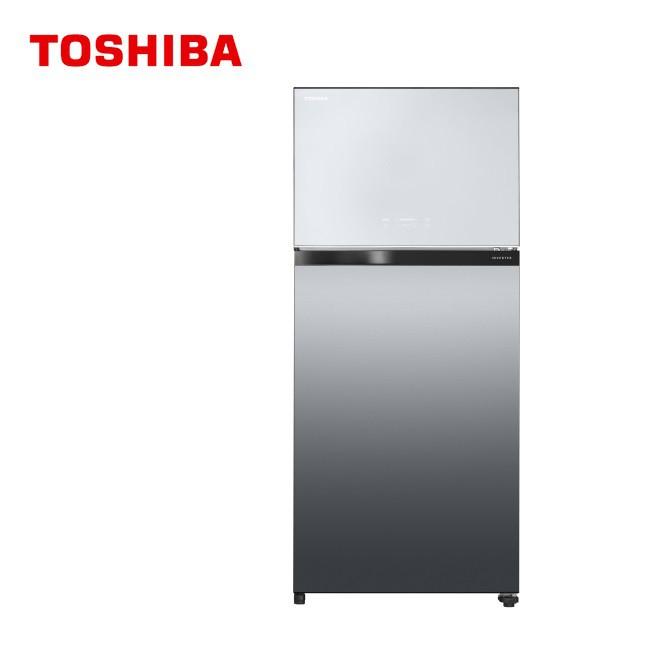 TOSHIBA 東芝 608L 變頻無邊框鏡面電冰箱 GR-AG66T(X) 免運費