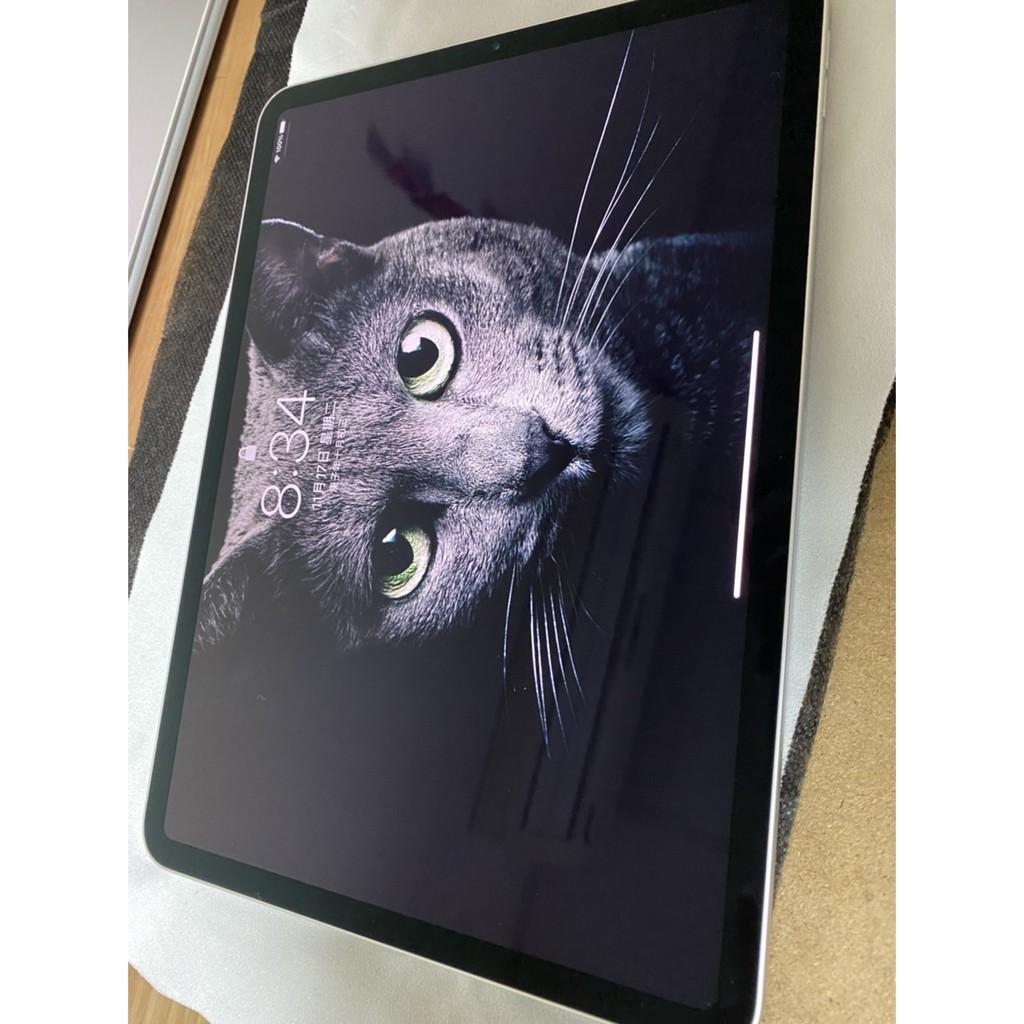 台北二手 2020 iPad Pro 11吋 128G  銀白色 128GB 保固到明年9/9 完整盒裝