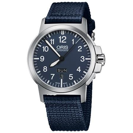 ORIS 豪利時 BC3 Advanced 日曆星期機械手錶-藍/42mm 0173576414165-0752226)