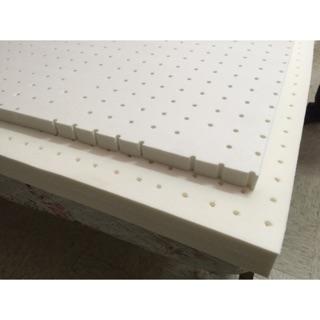 台灣工廠直營乳膠床墊-單人床3x6.2台尺(91x188公分-厚度2.5公分-亦可訂製單人加大-雙人床-加大雙人-嬰兒床 彰化縣