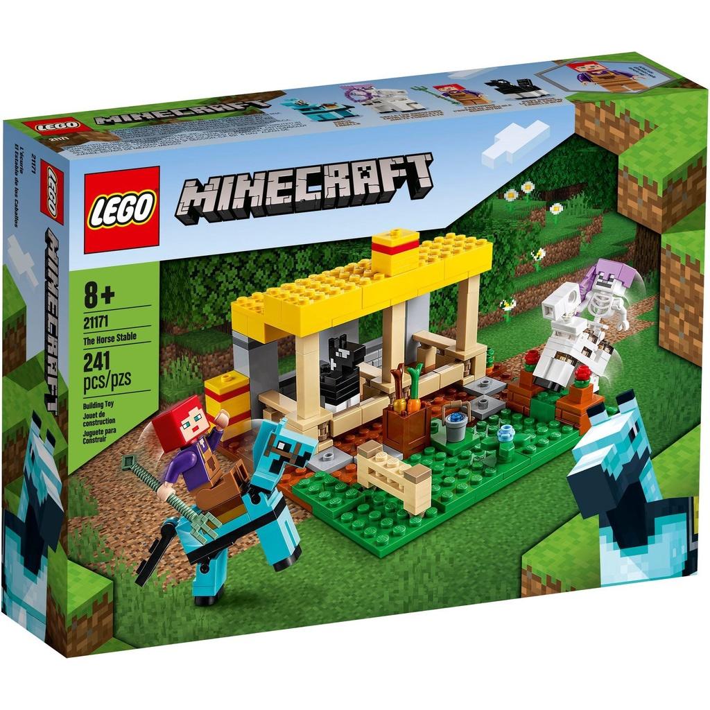 [Yasuee] LEGO Minecraft 系列 21171 馬廄