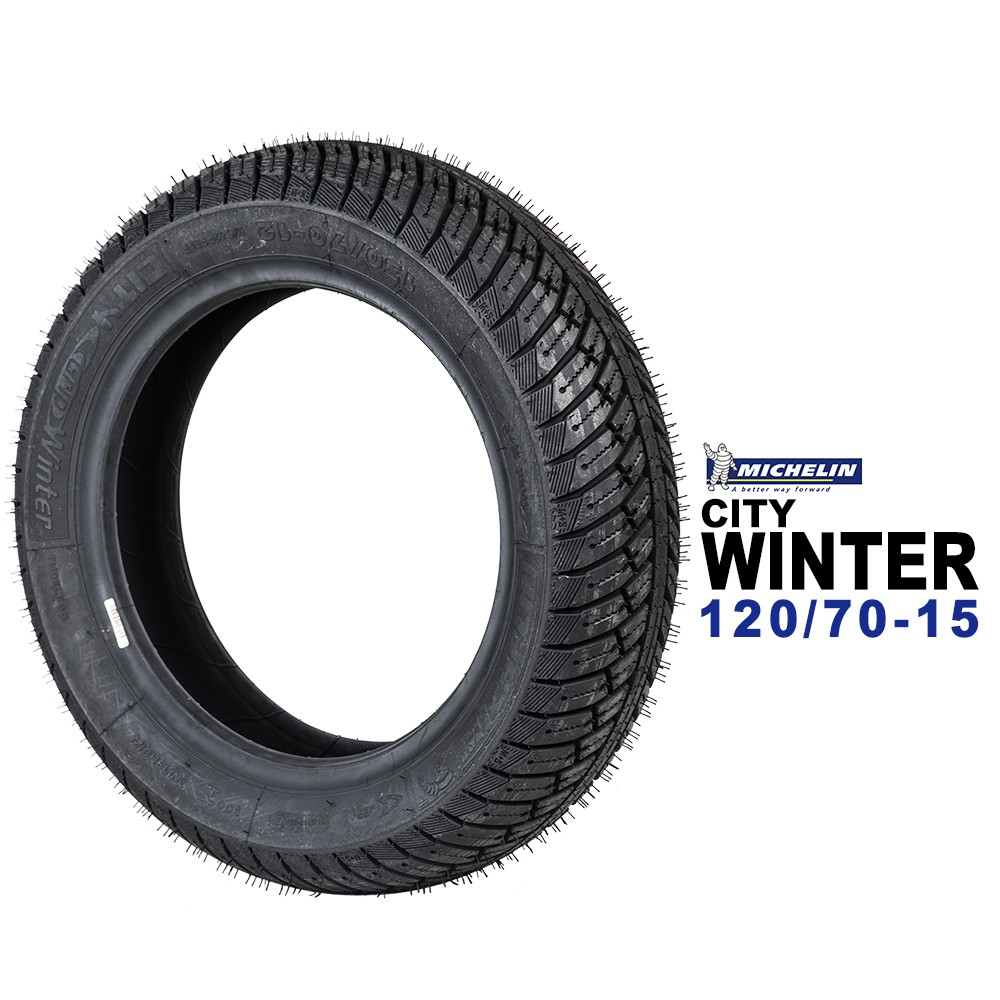 米其林輪胎 MICHELIN City Winter 冬季道路胎 120/70-15