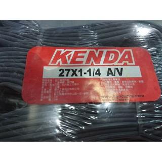 KENDA 建大 27x1-1/ 4 A/ V 美式氣嘴 登山車內胎 台灣製造 高雄市