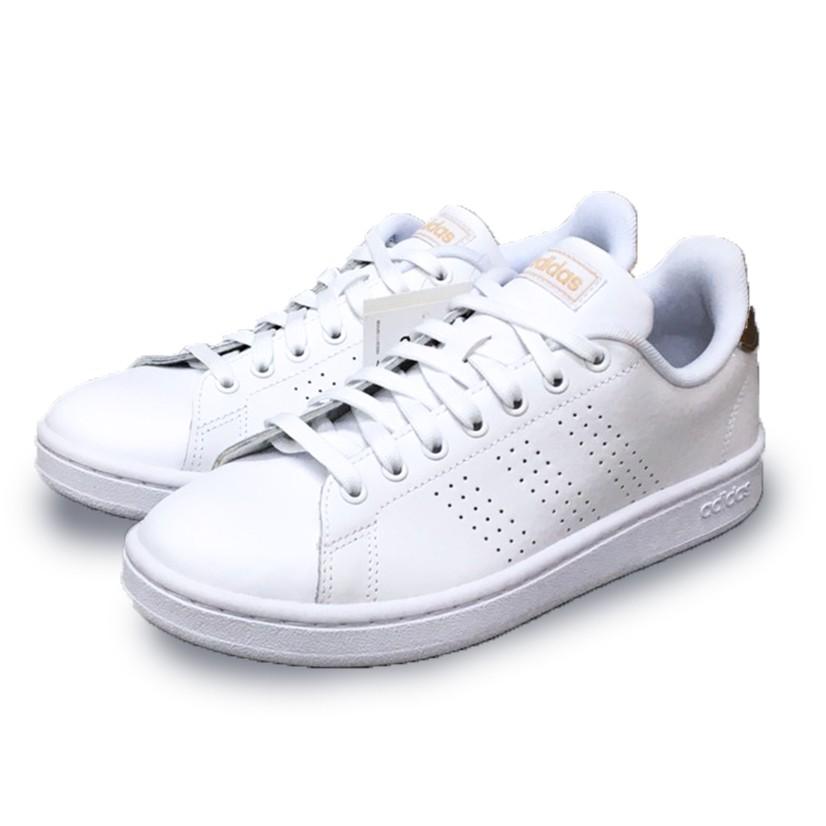 ADIDAS ADVANTAGE NEO 休閒鞋  女鞋 白金 F36223 Sneakers542