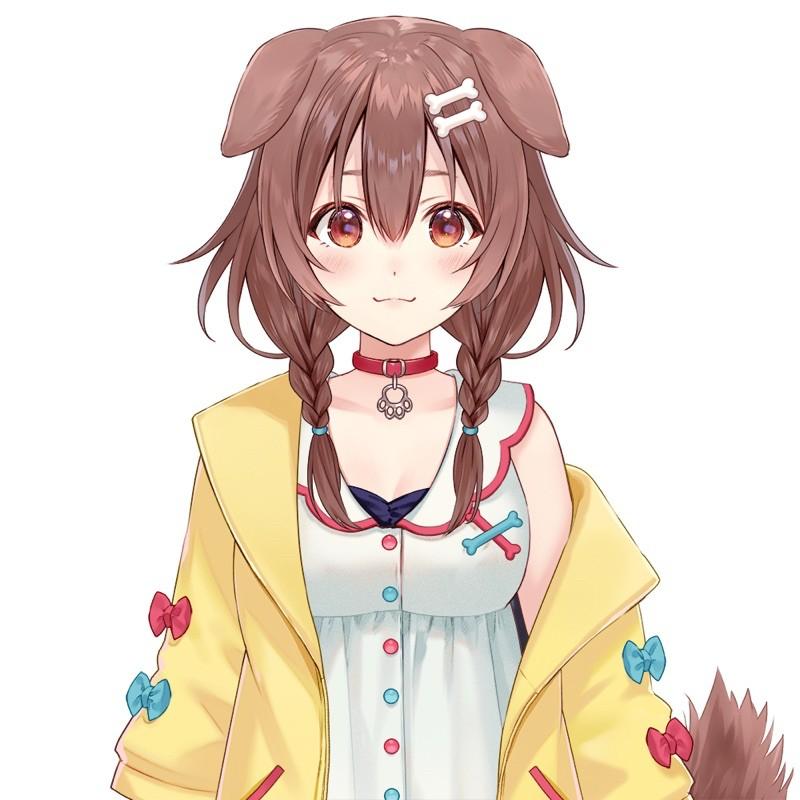 Hololive vtuber 戌神沁音 cos/cosplay 髮飾