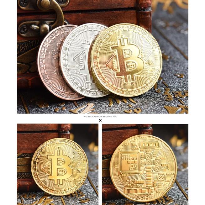 (買10送1) 比特幣 金幣 Bitcoin BTC 比特幣 虛擬幣 生日禮物 聖誕禮物 過年 礦工收藏幣 虛擬幣收藏