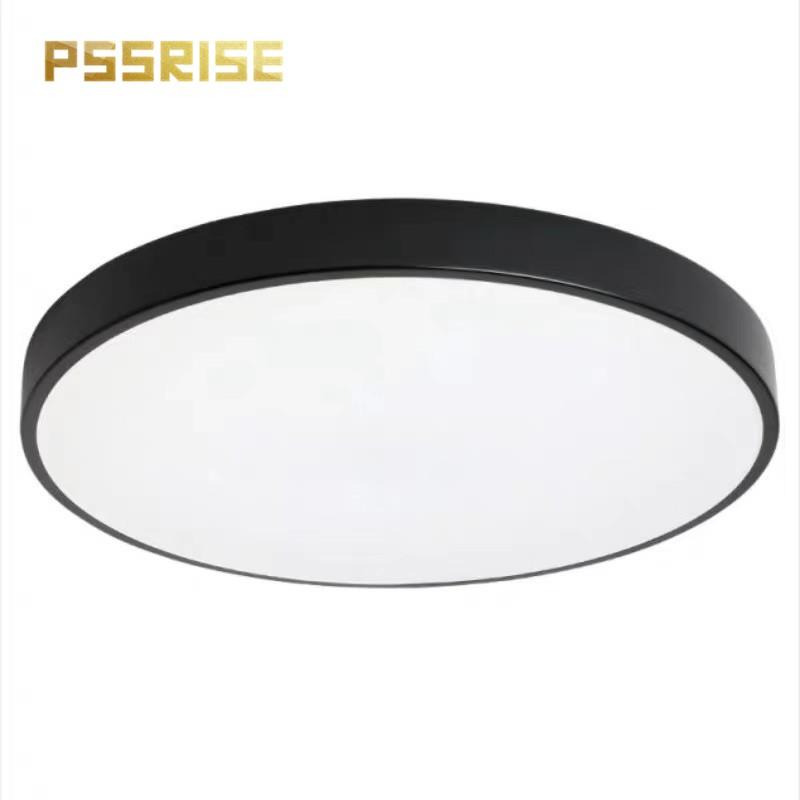 【PSSRISE 派瑟士】 經典款 LED圓形吸頂燈 馬卡龍七色系列 白光/三色變光無極調光 110V【兩年保固】
